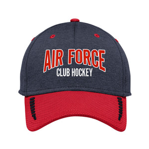Air Force Club Hockey - New Era Shadow Stretch Heather Colorblock Cap