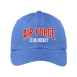 Air Force Club Hockey - Port Authority Garment Washed Unstructured Cap
