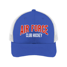 Load image into Gallery viewer, Air Force Club Hockey - Sport-Tek Retro Trucker Cap