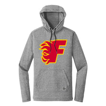 Load image into Gallery viewer, Gulf Coast Flames - New Era Tri-Blend Performance Pullover Hoodie Tee (NEA131)