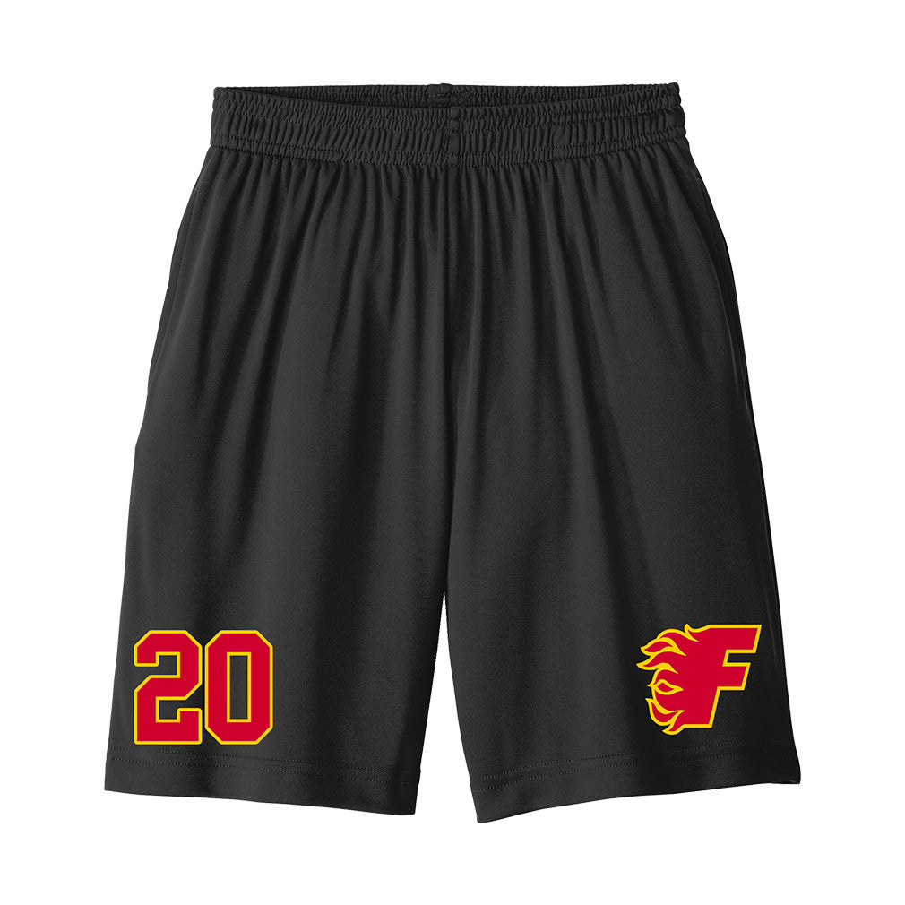Gulf Coast Flames - Sport-Tek PosiCharge Competitor Pocketed Short (Warmup)