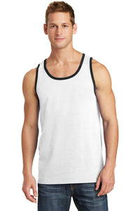 (LIMITED EDITION) Feathers + Chirps Christmas - Port & Company Core Cotton Tank Top