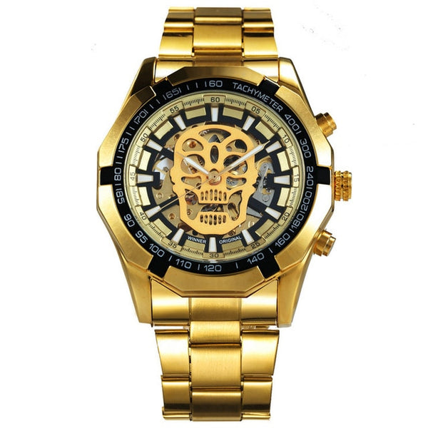 Men Luxury Skull Wrist Watch