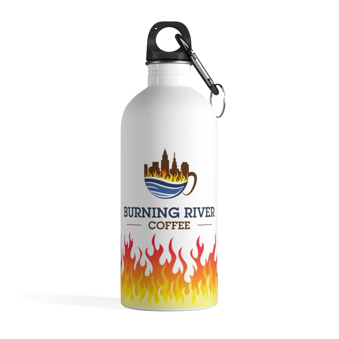 Burning River Coffee Stainless Steel Water Bottle