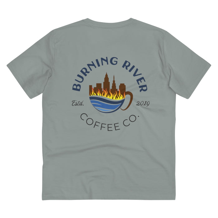 Burning River Coffee Organic T-shirt - Unisex