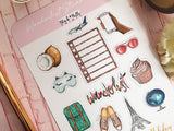 Wanderlust Planner Stickers For Those That Love Travelling