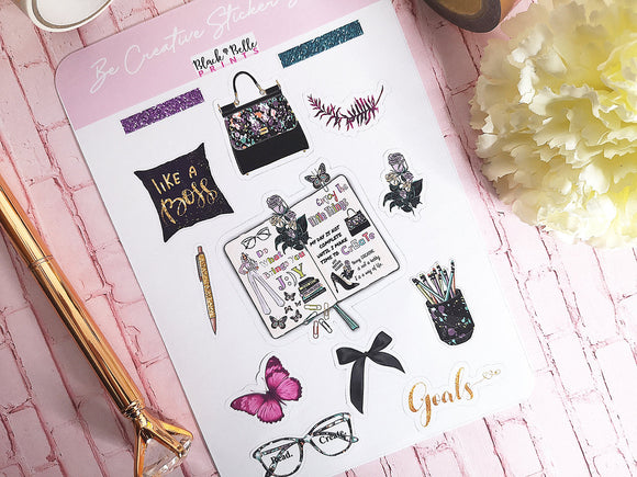 Decorative Planner Stickers for The Creative