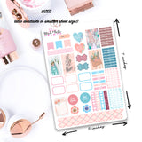Bloom Decorative Planner and Journal Stickers