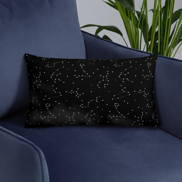 Melodic Constellation Basic Pillow