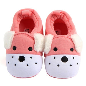 Baby Shoes Girls Boy First Walkers Newborn Slippers Baby Girl Crib Shoes Footwear Booties 0-18M