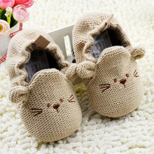 Load image into Gallery viewer, Baby Shoes Girls Boy First Walkers Newborn Slippers Baby Girl Crib Shoes Footwear Booties 0-18M