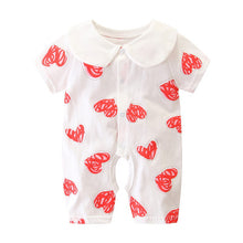 Load image into Gallery viewer, Summer Baby Boy roupa de bebes Newborn Jumpsuit Long Sleeve Cotton Pajamas 0-12 Months Rompers Baby Clothes