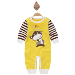 2019autumn style baby boy clothing sets cotton long sleeve infant baby boy clothes newborn baby rompers jumpsuit toddler outfits