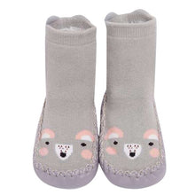 Load image into Gallery viewer, Baby Shoes Children Infant Cartoon Animal Thick Warm Socks Baby Gift Kids Indoor Floor Leather Sole Non-Slip Thick Towel Bebe