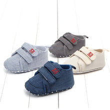Load image into Gallery viewer, Newborn Toddler Shoes Classic Canvas Baby Shoes First Walker Fashion Baby Boys Girls Shoes Cotton Casual Shoes Baby Girl Sneaker