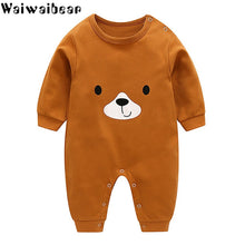 Load image into Gallery viewer, Baby Clothes Infant Rompers Boys&Girls Long-Sleeved Rompers Cartoon Infant Jumpsuit Baby Toddler Clothes Christmas Clothes-BB8