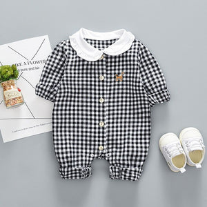 Baby clothes autumn long-sleeved jumpsuit cute cartoon outfitZQ113