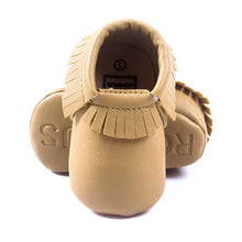 Load image into Gallery viewer, Tassels 26-Color PU Leather Baby Shoes Baby Moccasins Newborn Shoes Soft Infants Crib Shoes Sneakers First Walker