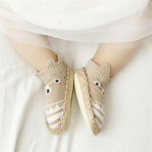 Load image into Gallery viewer, Infant First Walkers Leather Baby Shoes Cotton Newborn Toddler Boy Shoes Soft Sole Autumn Winter Babies Shoes for Baby Girl