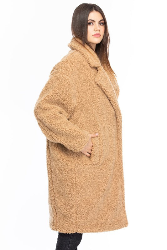 Rocco Maxi Teddy Coat