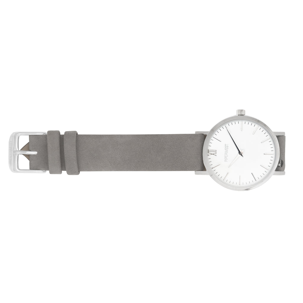 Classic Mini Minimalist 32mm Timepiece in Silver