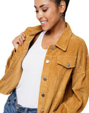 Ashlyn Cropped Corduroy Jacket