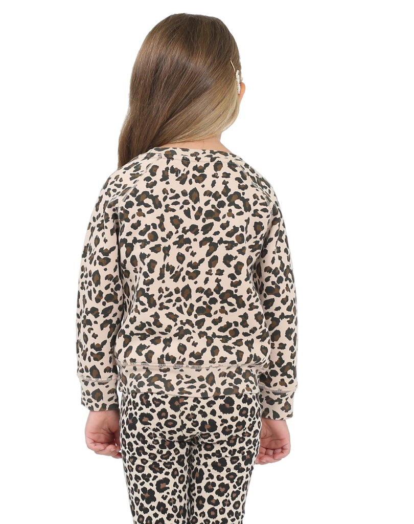 Babes Supporting Babes Kids Crew in Leopard