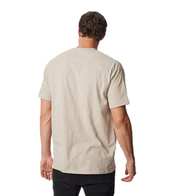 Box Pocket Tee in Bread