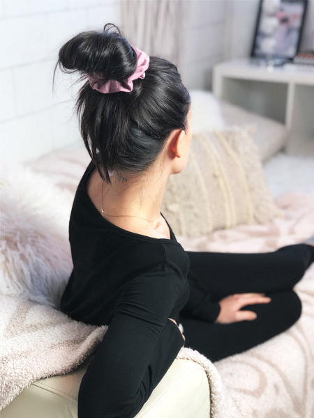Sleep Scrunchie in Dusty Rose