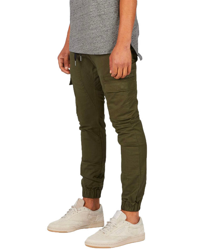 Sureshot Cargo Jogger in Military