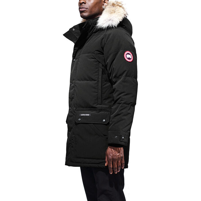 Men's Emory Parka in Black