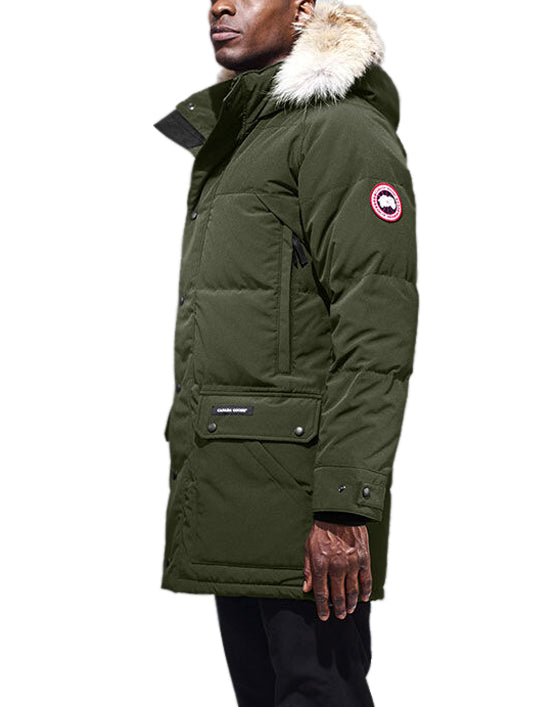Men's Emory Parka in Military Green