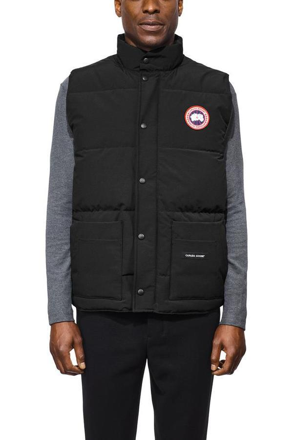 Men's Freestyle Crew Vest in Black