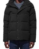 Mens Wyndham Parka in Black