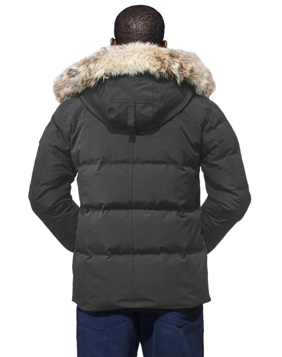 Mens Wyndham Parka in Graphite
