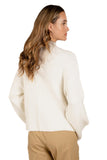 Raya Mock Neck Knit Sweater