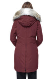 Ladies Rossclair Parka in Elderberry