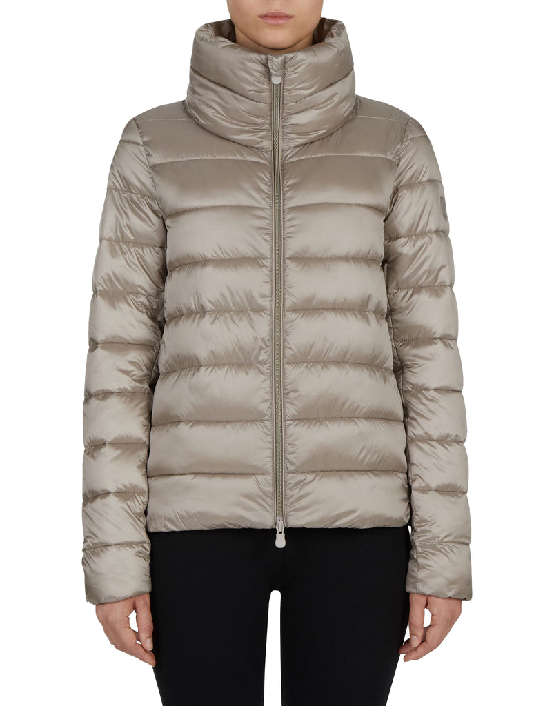 Save The Duck Puffer Jacket in Pearl Grey