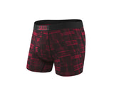 Vibe Boxer Brief in Red Patched Plaid