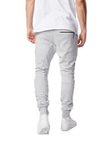 Sureshot Fleece Jogger in Silver Marle