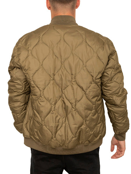 The Liam Quilted Bomber