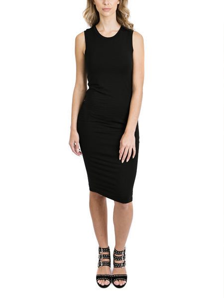 Outlines Sleeveless Midi Dress