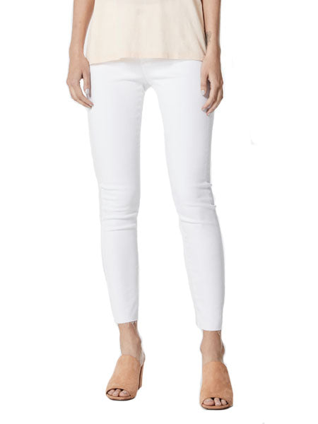 Farrah Skinny Ankle Denim in White