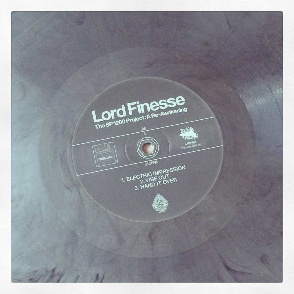 Lord Finesse - The SP1200 Project: A Re-Awakening - x2LP (Silver w Foil #)