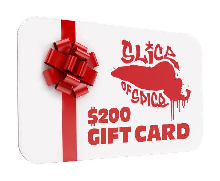 SOS GIFT CARD ($200) w SOS Member Qualification