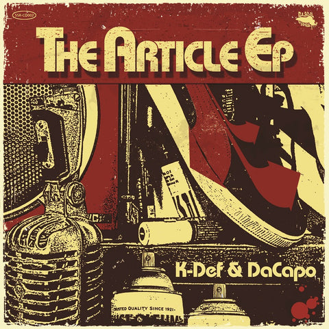 K-Def & DaCapo - The Article EP (Expanded Edition) - CD