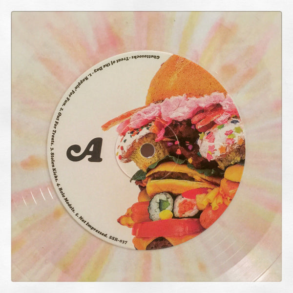 Ghettosocks - Treat Of The Day - LP (Splatter Vinyl)
