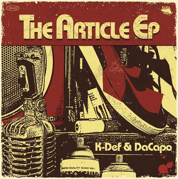 K-Def & DaCapo - The Article EP - 180g (Black)