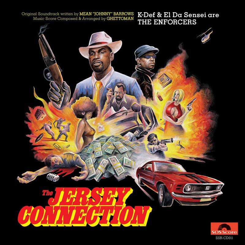 The Enforcers (K-Def & El Da Sensei) - The Jersey Connection (Expanded Edition) - CD