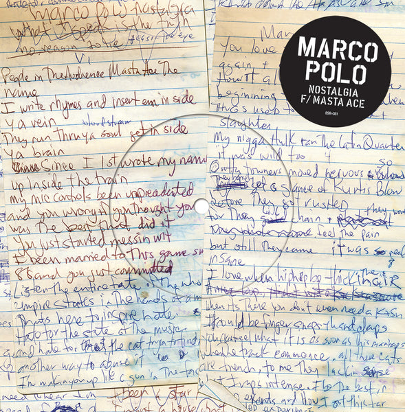 Marco Polo - Nostalgia ft. Masta Ace - 45 (Black)
